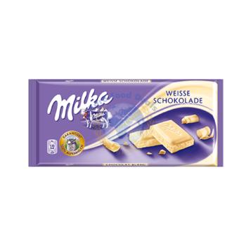 Milka White Chocolate(100G) 1