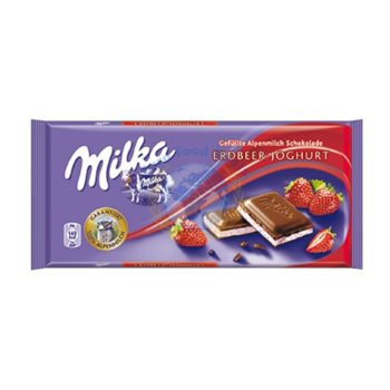 Milka StrawberryChocolate(100G) 1