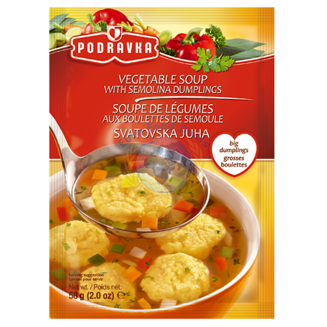 Podravka Vegetable Soup With Dumplings 58g 1