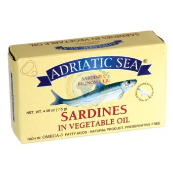 Adriatic Sea Sardines In Vegetable Oil(115G) 1