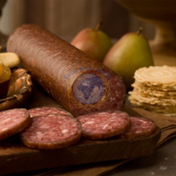 Brother And Sister Smoked Beef Sausage - Cajna Approx 1Lbs 1