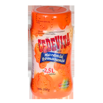 Cedevita Orange Vitamin Drink 200G 1