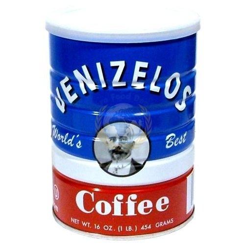 Venizelos Greek Style Ground Coffee