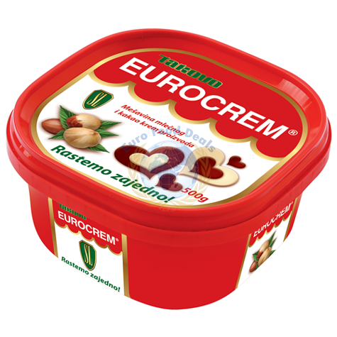 Takovo eurocrem spread 500g euro food deals for Cuisine 500 euros