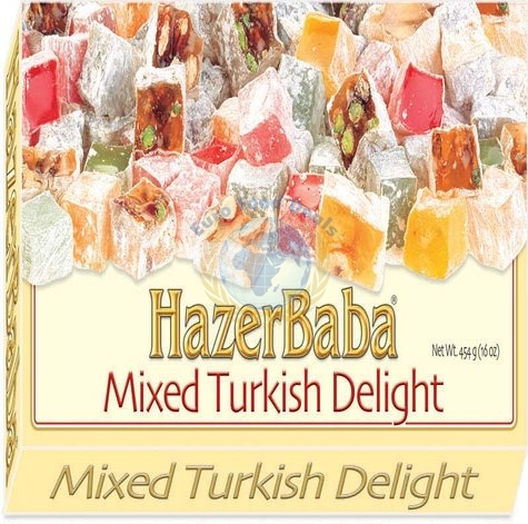 Hazer Baba Mixed Turkish Delight 454g