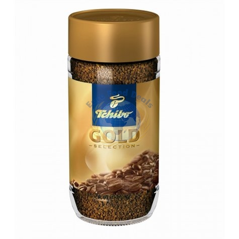 Tchibo Gold Selection Instant Coffee 200g Euro Food Deals