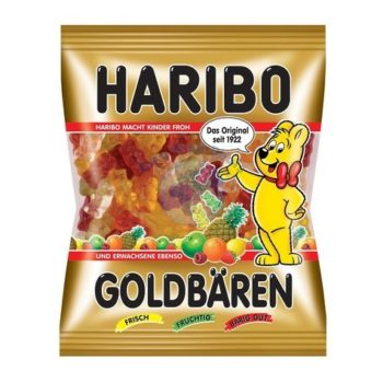 Haribo Original German Gummy Bears 100g