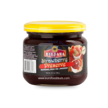 Biljana Strawberry Preserve 400g