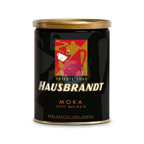 Hausbrandt Moka Espresso Ground Coffee Tin 250g Euro